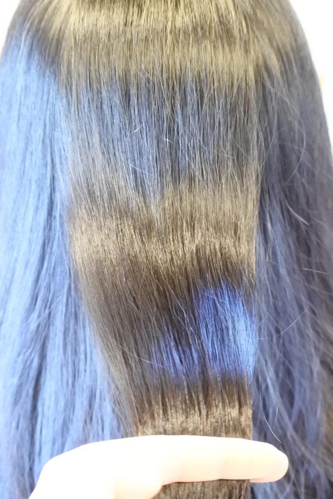 ヘナ、ハナヘナ染めで加齢によって細くなった髪をカバー