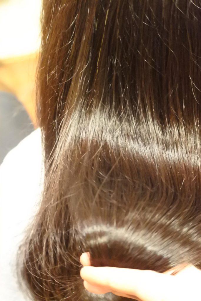 髪のハリコシがなくなってきたとお困りの方は、ポリフェノールが有効です。