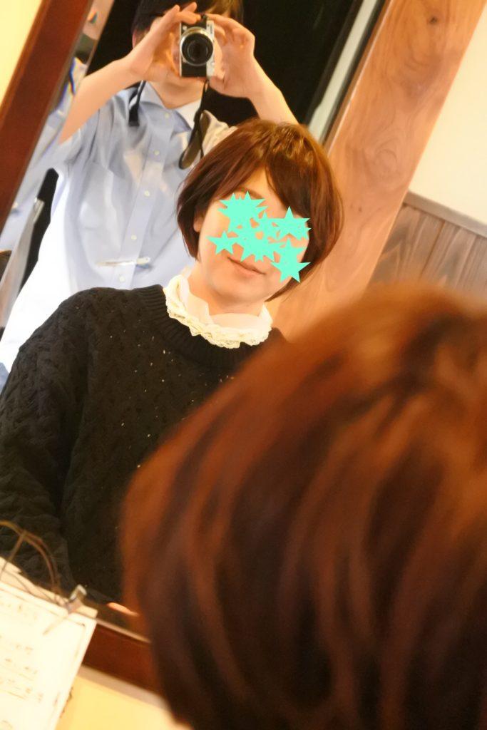 日本人の髪質、骨格に合わせヘアカットしています。