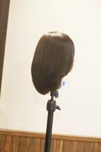 段々と細くなる髪、ま、まだ髪をすくのかな…?これ以上すかないでほしいけど言えない…声なき声のために