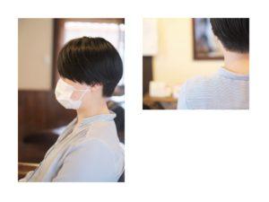 ハンサムショートはあなたの骨格に奥行きを作るショートヘアです